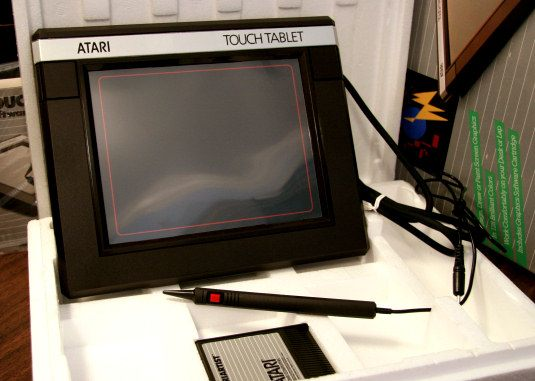 Atari Touch Tablet for the outdated artist in all of us