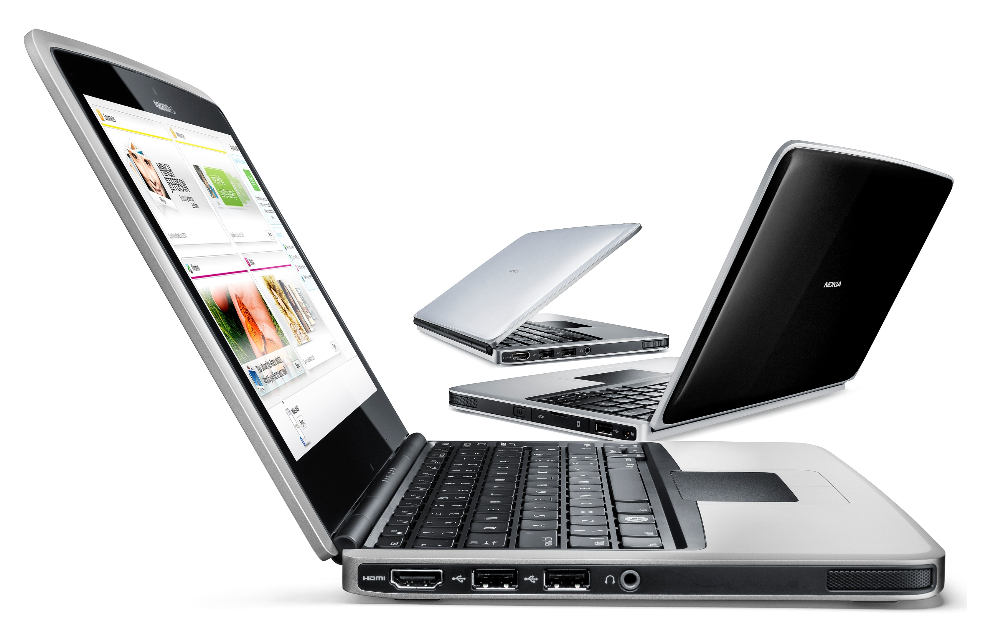 Nokia Booklet 3G netbook revealed: 12hr battery, HSPA and GPS [Video]