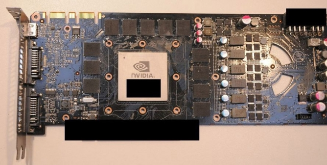 NVIDIA GTX 480 Fermi-based video card leaks