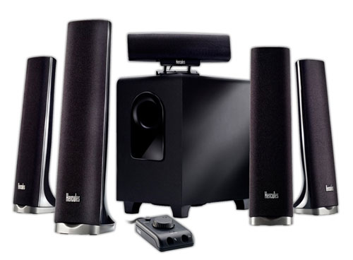 Hercules unveils new XPS 5.1 and XPS 2.0 multimedia speaker systems