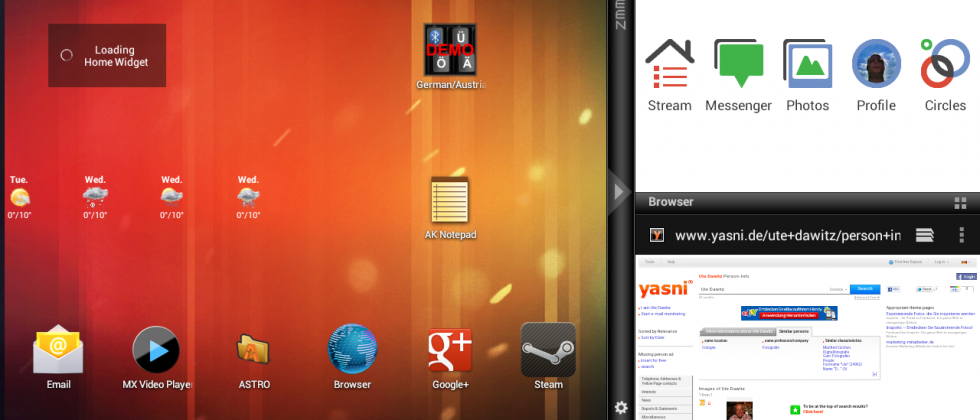 User modified CM9 TouchPad build adds Cornerstone multitasking support