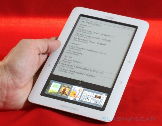 "Nook wont be ""entrenched"" with Windows says B&N CEO"