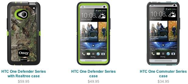 "OtterBox HTC One cases ""coming soon"""