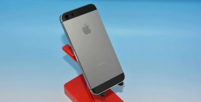 """iPhone 5S leaked in full with new """"graphite"""" color"""