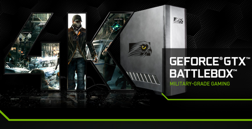 NVIDIA GeForce GTX Battlebox aims for 4K screens and highest-end gaming