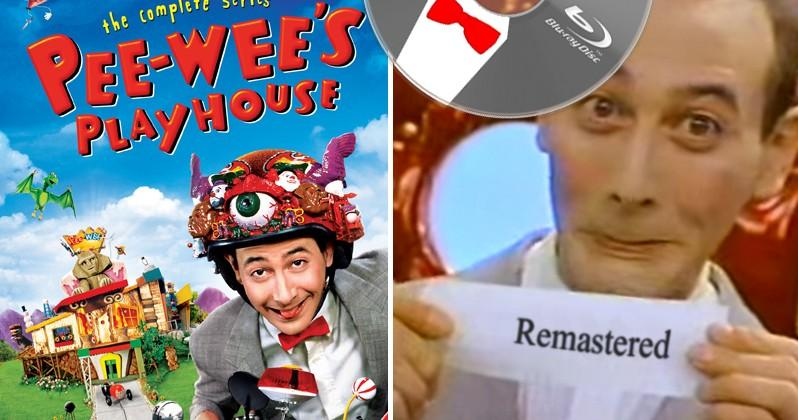 Pee-wee's Playhouse remastered for Blu-ray release