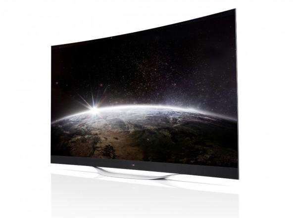 LG launches huge curved 4K OLED TV for the mass market ...