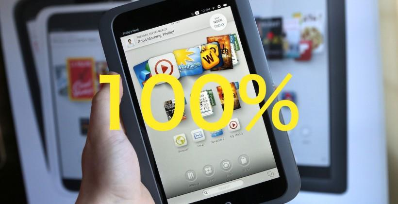 Barnes & Noble buys back the Nook it sold