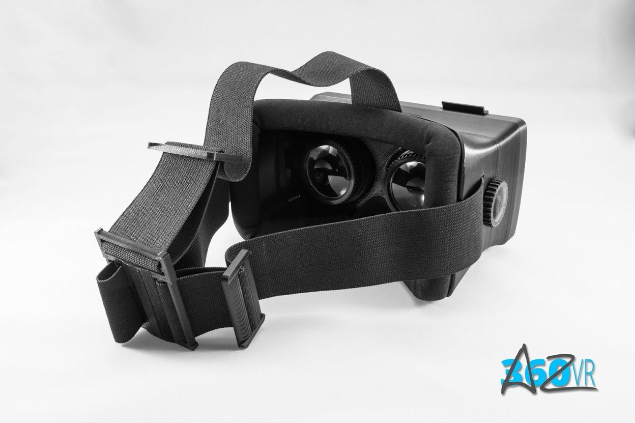 3D printed VR headset for OnePlus One has adjustable ...