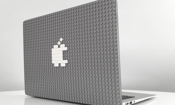 Brik Case is a LEGO-like case for your laptop