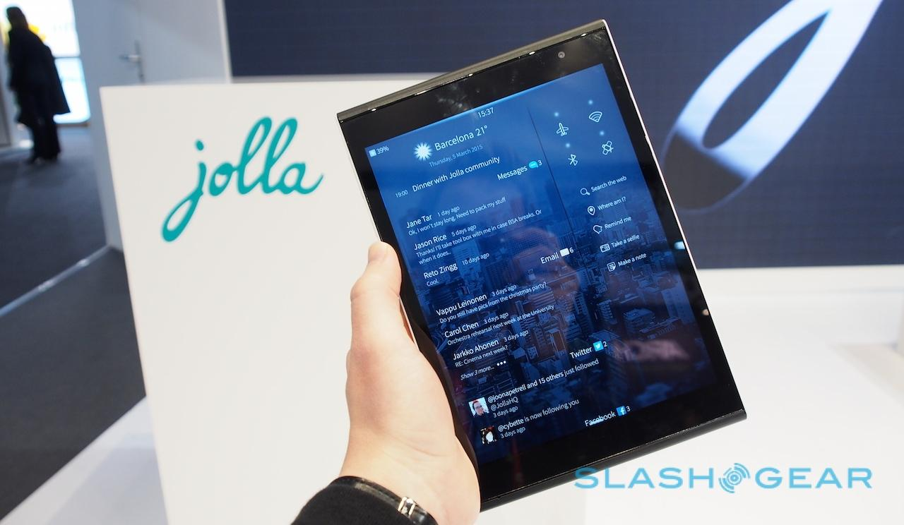 Jolla Sailfish Based Tablet OS 2.0