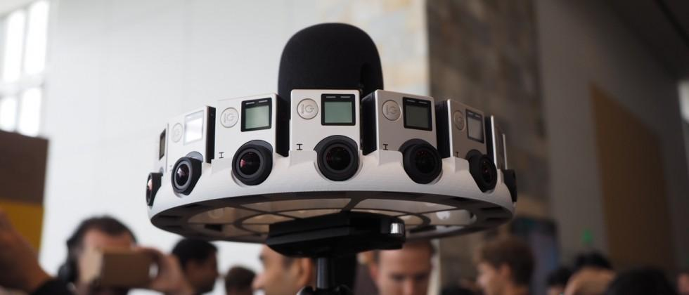 This is GoPro's crazy 16-camera Google Jump rig