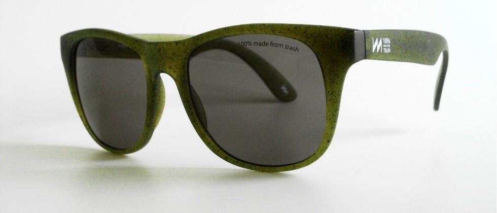 Miniwiz RE-view is a Sunglasses created from recycled DVDs & CDs