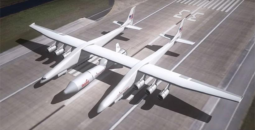 Stratolaunch aircraft will have a 385-foot wingspan