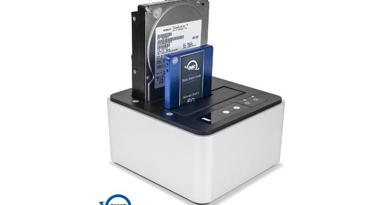 OWC Drive Dock lets you swap bare SATA drives on the fly