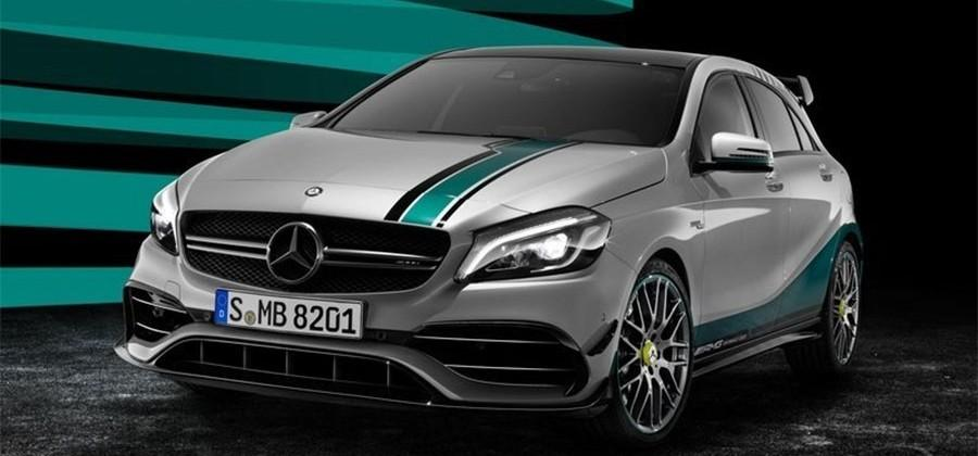 Mercedes-AMG A45 Champions Edition celebrates F1 manufacturers championship