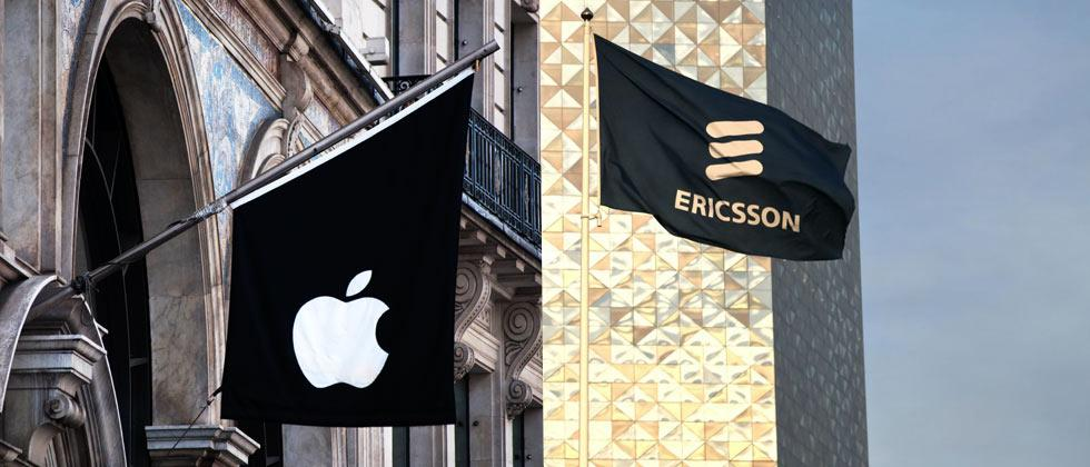 Ericsson's Apple suit ends in license deal
