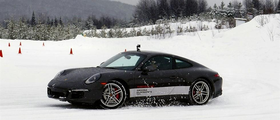 Snow-drifting Porsche's best cars to test the Re-Fuel GoPro Battery