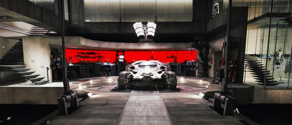 Go inside the Batman v Superman movie's Batcave with Street View