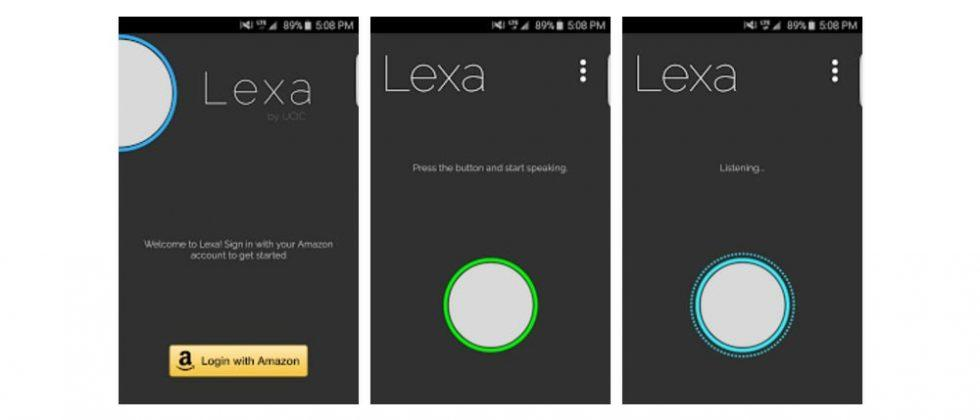 Lexa app puts Amazon's Alexa on your Android device