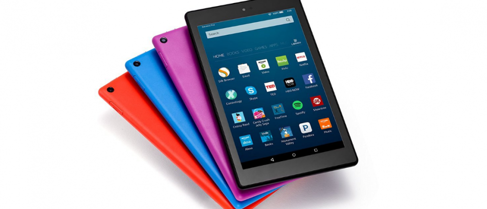 Amazon Fire HD 8 refresh announced with extended battery life and Alexa support