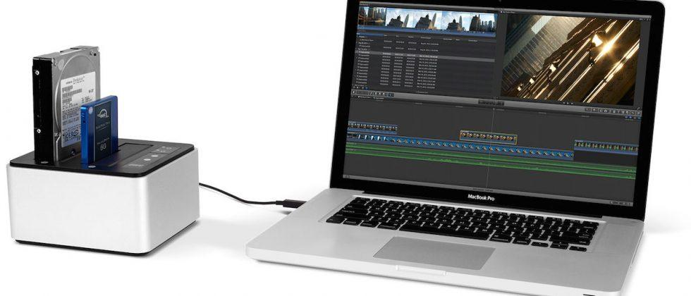 New OWC Drive Dock connects bare drives over USB 3.1 Gen 1