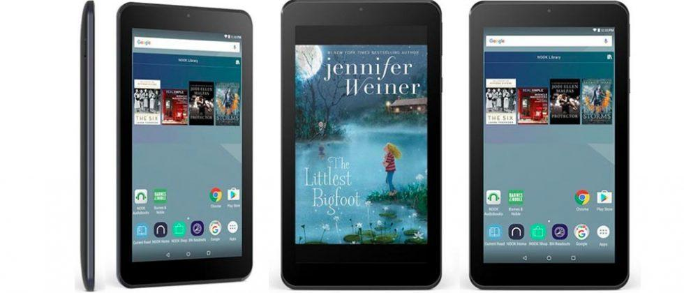 NOOK Tablet 7″ challenges Amazon's cheapest Kindle