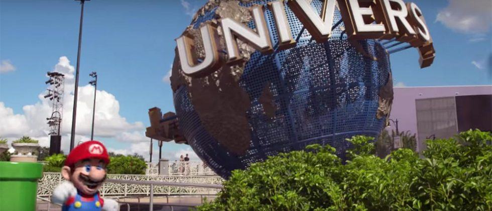 Immersive Nintendo attractions are coming to three Universal theme parks