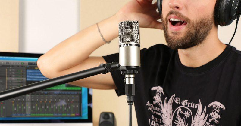 iRig Mic Studio XLR has a large diaphragm in a small size