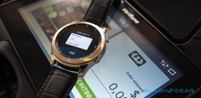 Samsung Gear S3 supports Samsung Pay on any Android phone