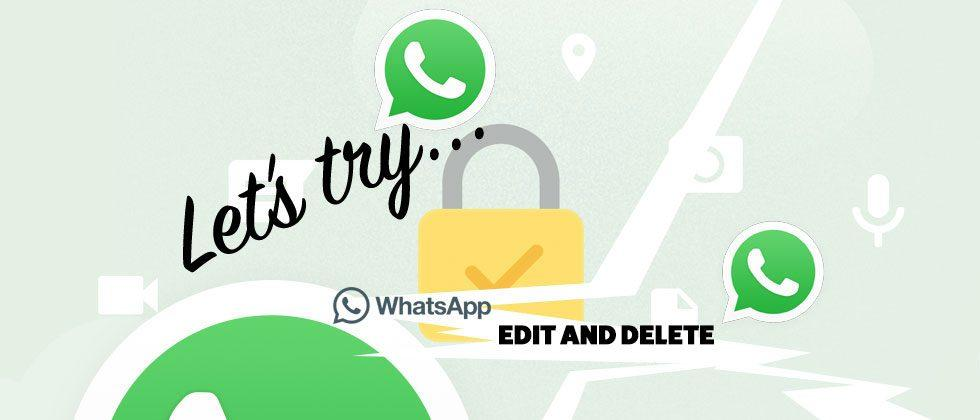 WhatsApp update: how to edit and delete messages