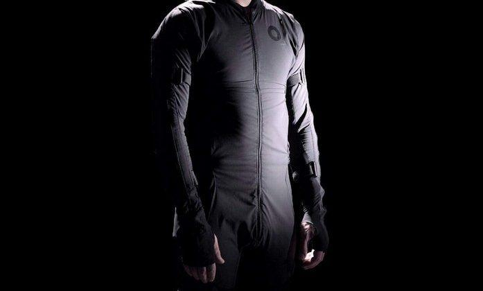 Smartsuit Pro is a motion capture studio in one outfit
