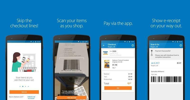 Walmart Scan & Go finally Android after years on the iPhone