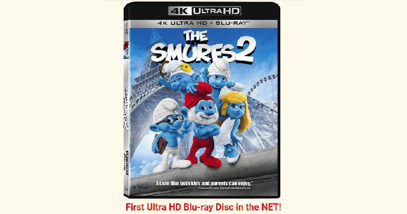 """Smurfs 2"" is the first UHD Blu-Ray Disc to be pirated"