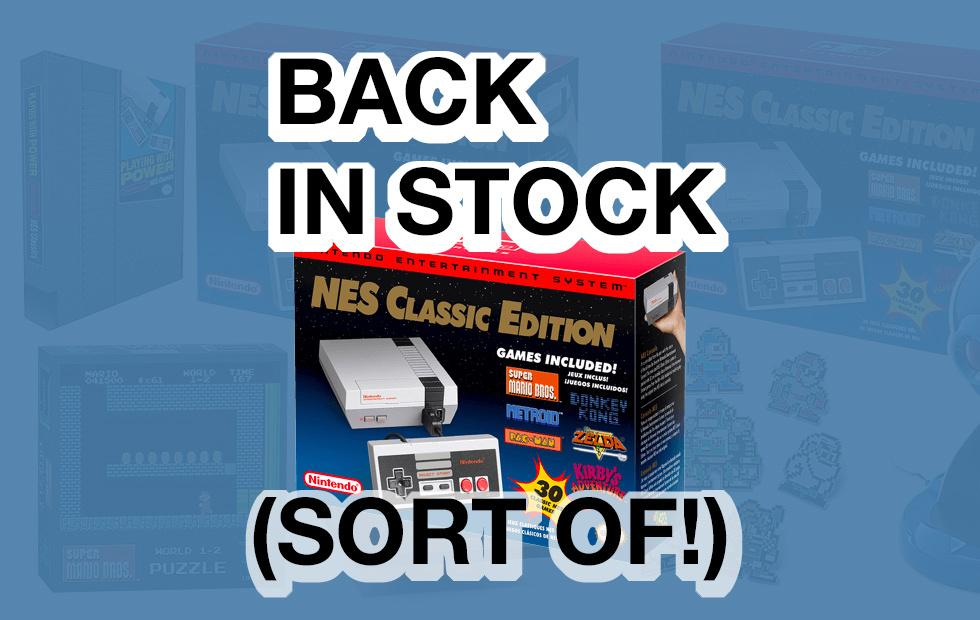 NES Classic Edition available NOW from ThinkGeek (with details)