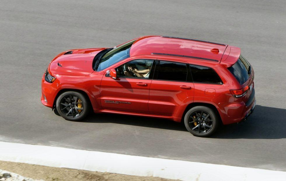 2018 Jeep Grand Cherokee Trackhawk First Drive: The 707hp SUV