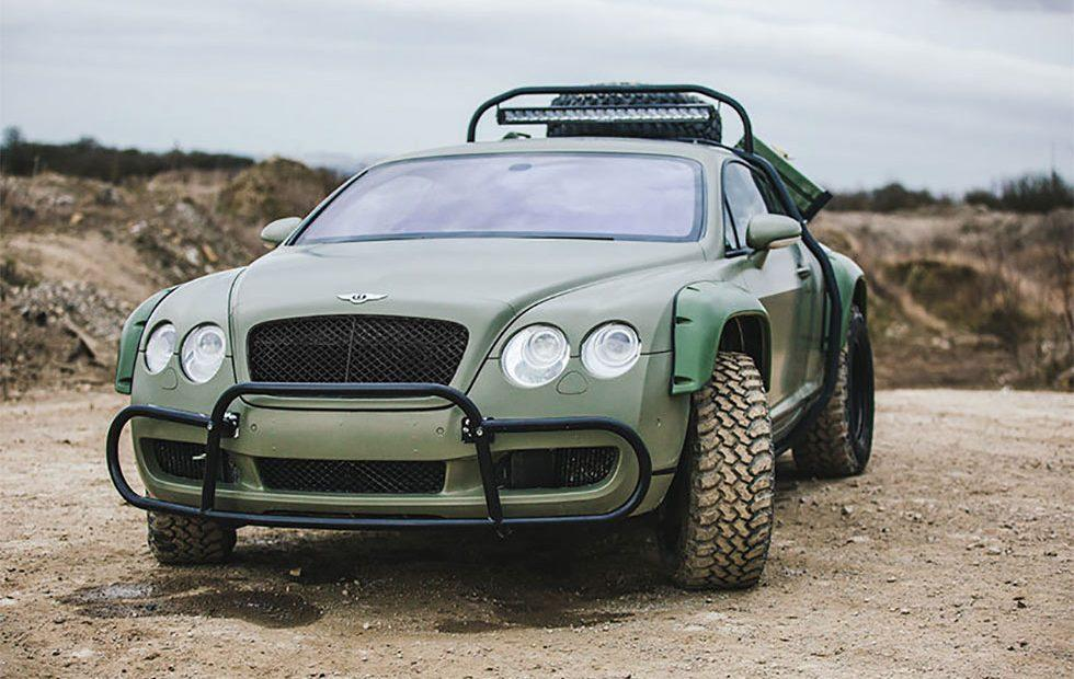 Bentley Continental GT Rally Edition from Supercar Megabuild Hits eBay