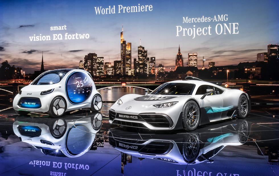 Project One And Electrification Take Center Stage at Frankfurt for Mercedes-Benz