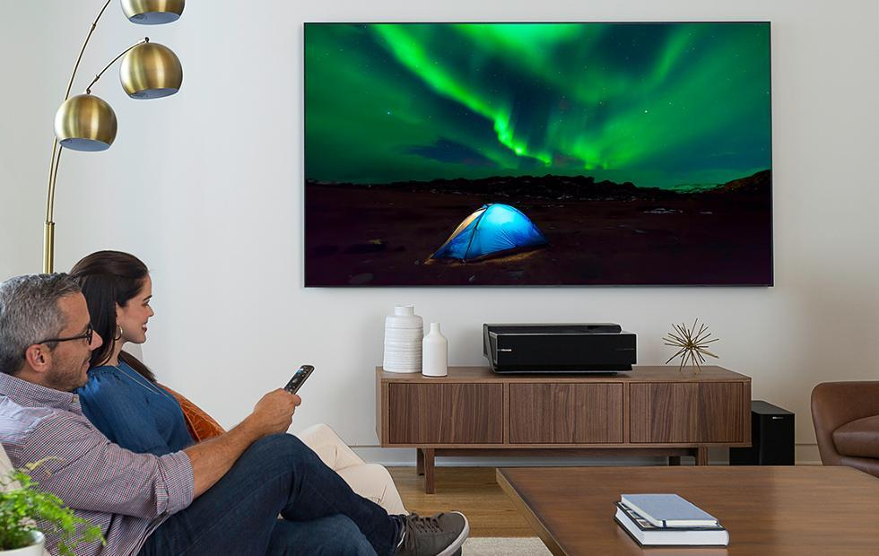 Hisense 4K Smart Laser TV is really a projector with speakers