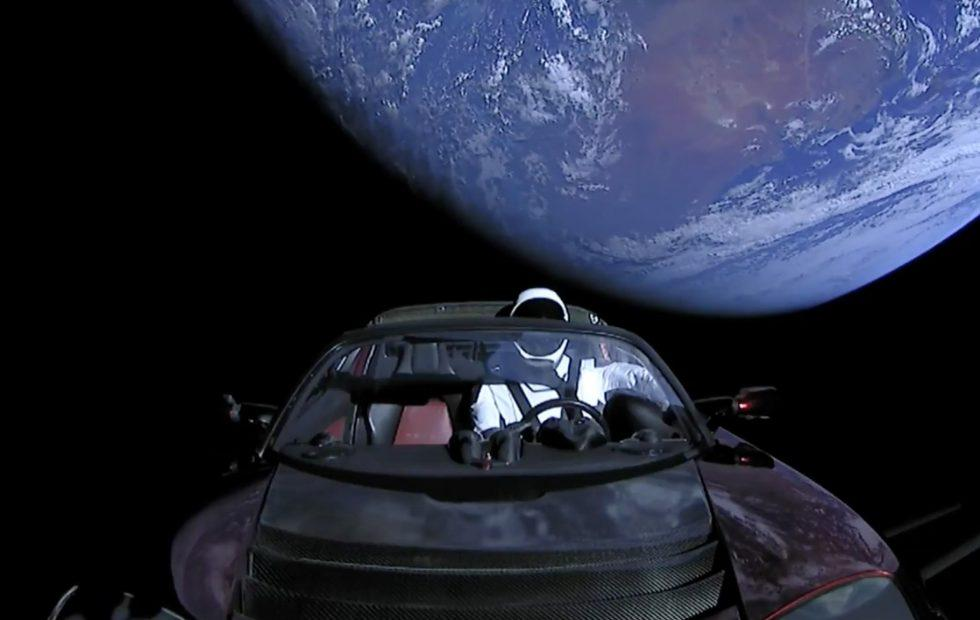 You can watch SpaceX's Mars-bound Tesla Roadster live