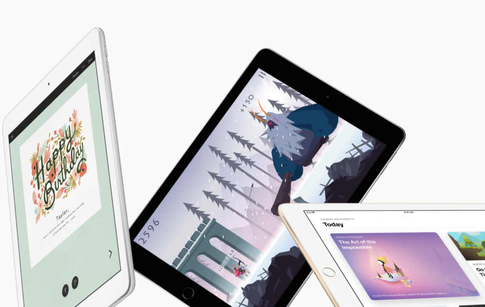 New iPad revealed with Apple Pencil in tow