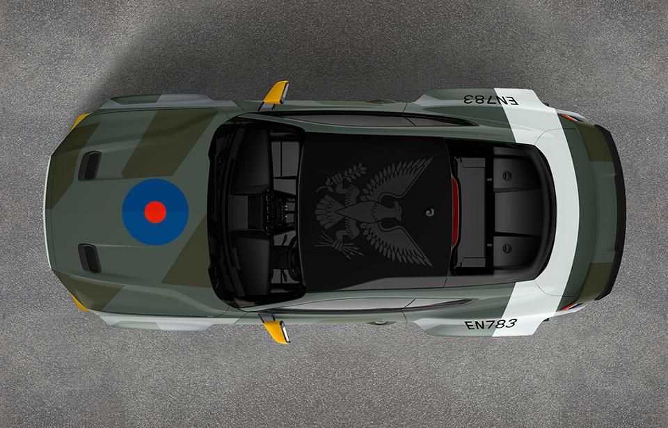 Ford reveals 700HP, WWII fighter plane-inspired Mustang for charity