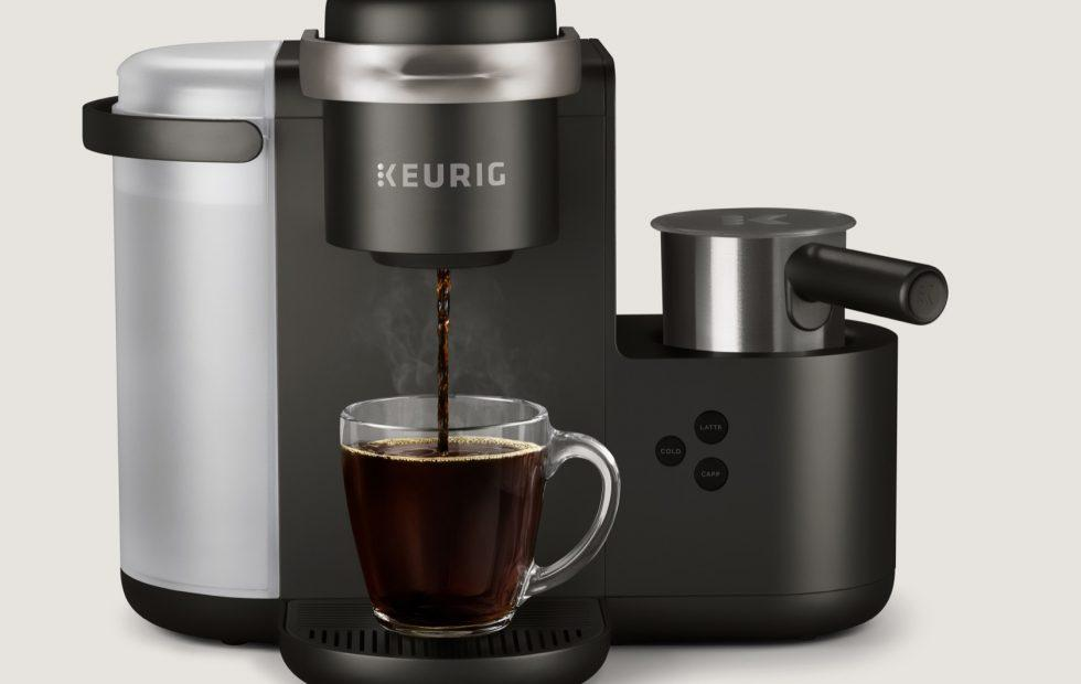 Keurig's K-Cafe promises espresso-strong coffee from regular pods