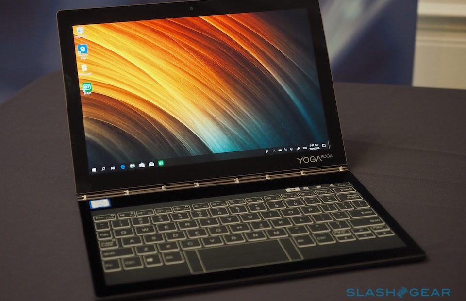 Lenovo Yoga Book C930 hands-on: Dual E Ink and LCD delight