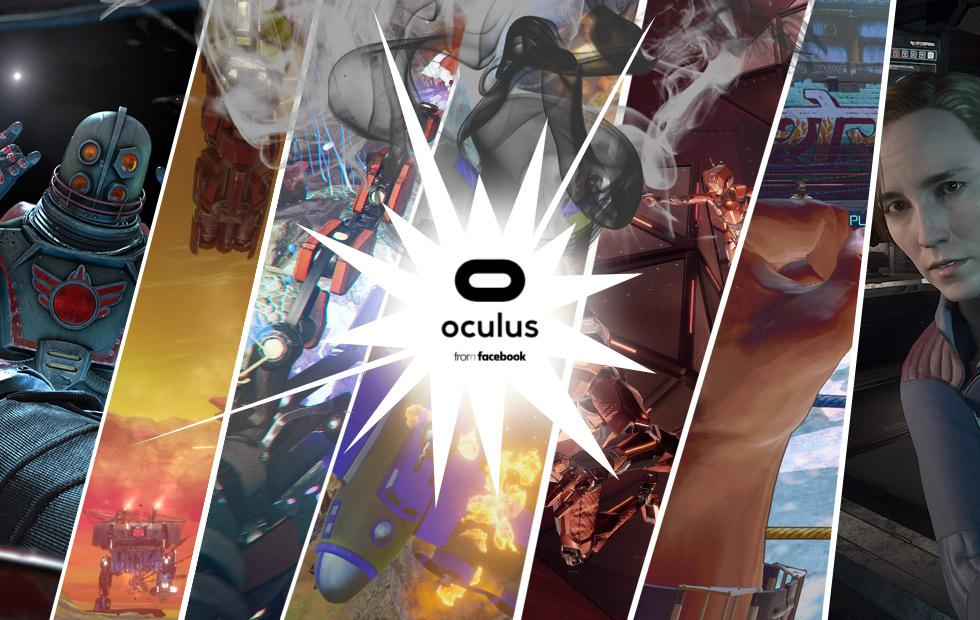 See all 8 new major Oculus games shown at OC5 2018
