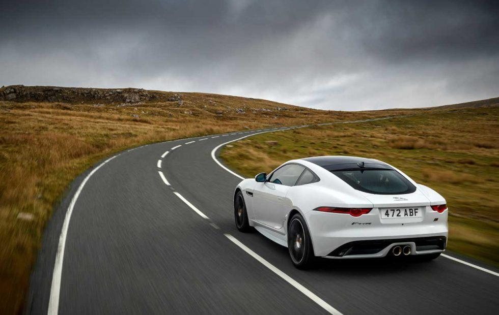 Jaguar F-Type Chequered Flag celebrates 70 years since the XK 120's debut