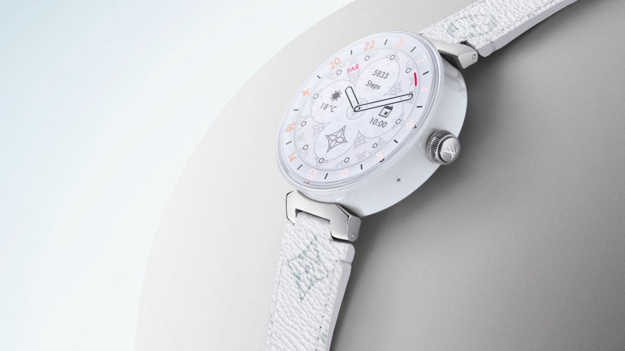 Louis Vuitton luxury Tambour Horizon smartwatch gets Snapdragon Wear 3100 chip