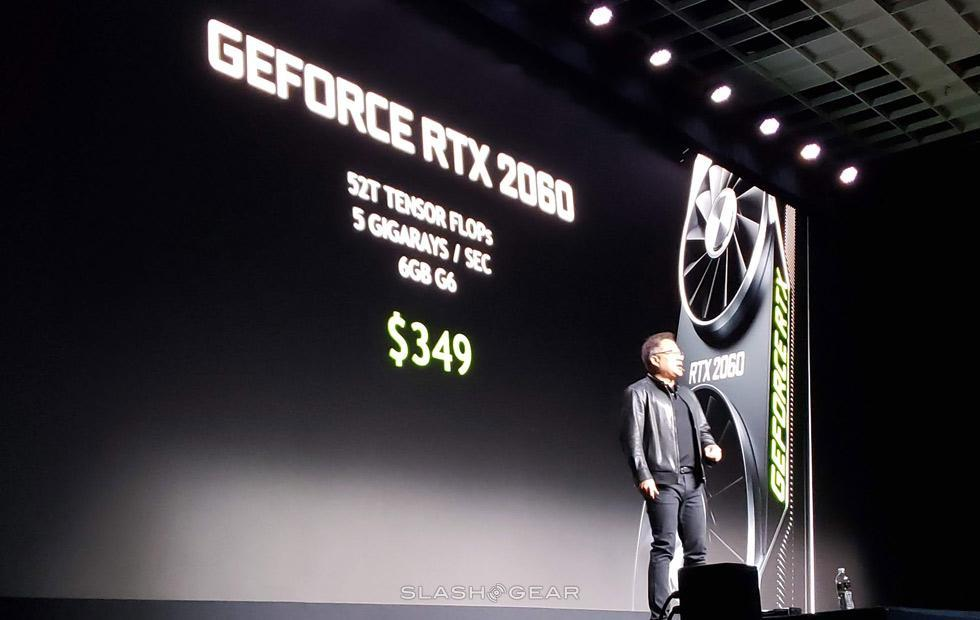 RTX 2060 revealed for starting price of $349