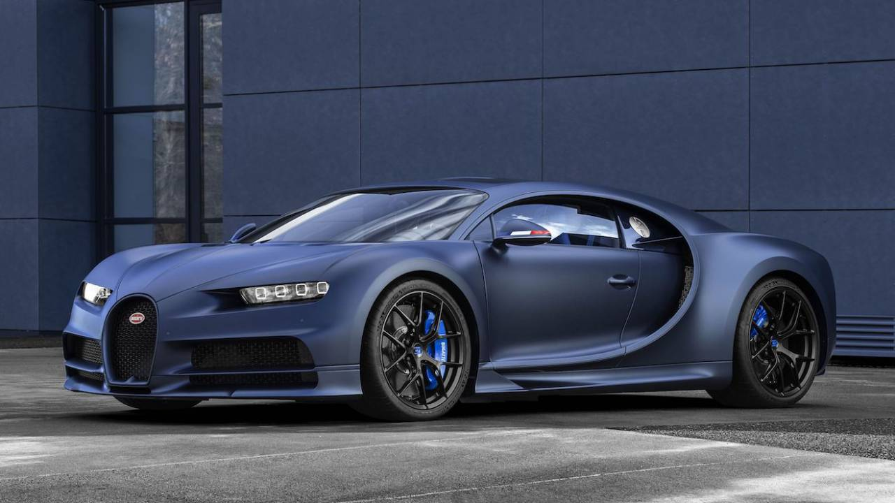 Bugatti Chiron '110 Ans' special edition marks anniversary, limited to 20 models