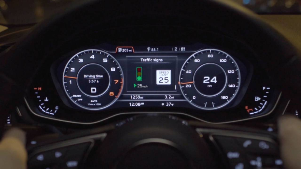 Audi deploys speed recommendations to help drivers avoid red lights